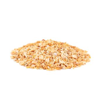 vQm Dried garlic